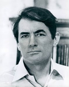 Gregory Peck, great actor & so handsome