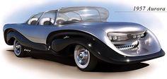 1950's Concept Car