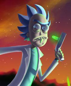Rick (((and Morty))) ( Christina Lorre Drawings, Ricky Y Morty, Cartoon Network, Rick And Morty Poster, Fanart, Batman Comics, Cartoon Drawings, Character Design, Nerd