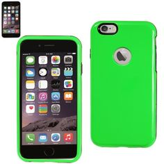 $10.99 Reiko Dual Cover Gel Slim Case For Apple iPhone 6 4.7inch