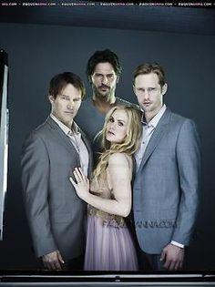True Blood: Bill, Alcide, Sookie & Eric