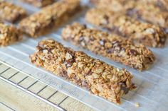 Home made granola bars with ingredients I have in my house.