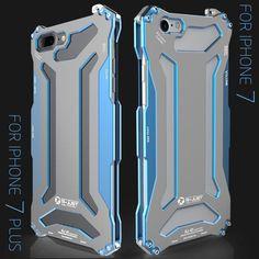 New Futuristic Style Luxury Space Aluminium Super Thin Full Armor Case For Apple iPhone 7 / 7 Plus