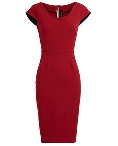 ROLAND MOURET | Panelled Midi Dress | Browns fashion & designer clothes & clothing