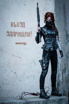 winter soldier fem bucky barnes cosplay