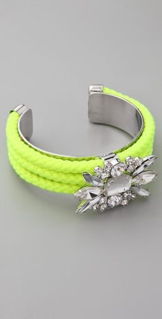 neon and bling