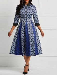 Customary Shweshwe Dresses can be beat whenever of the week, either to task for coincidental Fridays African Wear Dresses, African Attire, African Clothes, African Fashion Designers, African Print Fashion, Africa Fashion, Shweshwe Dresses, African Traditional Dresses, Colorblock Dress