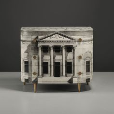 The stuff dreams are made of! Fornasetti's Palladiana cabinet, 1955, offered by Wright auctioneer. Estimated to sell around $40,000.