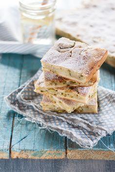 Scarpaccia viareggina - torta dolce di zucchine