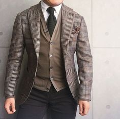 Gents Fashion, Mens Fashion Suits, Mens Suits, Style Masculin, Mature Fashion, Elegant Man, Mode Chic, Dapper Men, Sharp Dressed Man