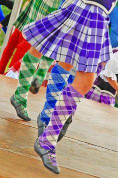 Kilts & Hose - St Andrews Highland Games 2010.