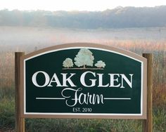 Custom Farm Sign seasonal address sign home by RichardMalacek, $340.00
