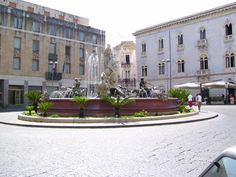 Ortigia, fontana di Diana cacciatrice (Siracusa)