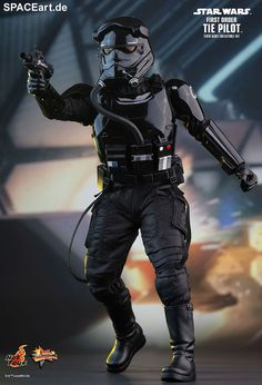 Star Wars: First Order TIE Pilot, PVC Figur ... https://spaceart.de/produkte/sw131.php