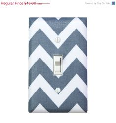 HOLIDAY SALE Chevron Light Switch Plate Cover / by SSKDesigns, $14.00
