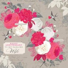 Wedding Card - Love and Laughter and Happy Ever After
