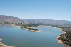 View Pineview Reservoir and Huntsville Utah