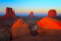 Monument valley. I will ride through it