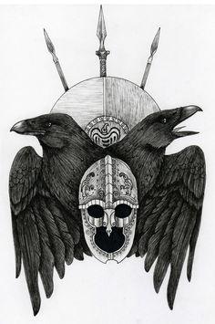 odin's ravens   Tumblr