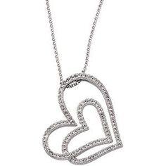 Diamond Heart Necklace from Luisagraffjewelers.com
