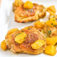 mango chicken--Looks so yummy!!!