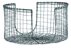 Doesn't really go here, but I love plate caddies:-)  Woven Wire Plate Caddy on OneKingsLane.com