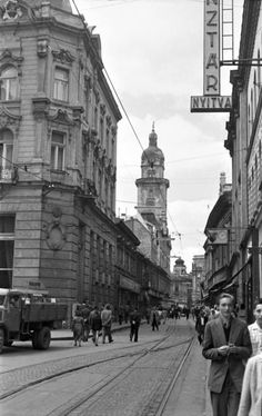 Utca, Old Pictures, Historical Photos, Budapest, Street View, Architecture, Historical Pictures, Arquitetura, Antique Photos
