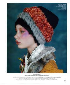 ED@KOREA, ED CHOI'S WESTERN AND KOREAN MODELS: Liza Kotova Nylon Korea December 2011