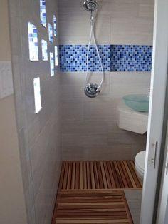 Best Tiny House Bathroom Shower And Tub Ideas Tiny House Bathroom Ideas Tiny Bathrooms Wet Room Bathroom, Tiny Bathrooms, Tiny House Bathroom, Diy Bathroom Decor, Simple Bathroom, Modern Bathroom, Bathroom Designs, Bathroom Ideas, Bathroom Plans
