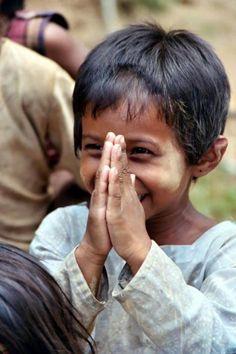 This little boy makes me smile.