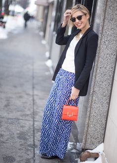 A great around town outfit, and some of the prices are too good to be true- The bag is under $30! Featuring @Target @BaubleBar @Topshop [via www.thechicagolifeblog.com]
