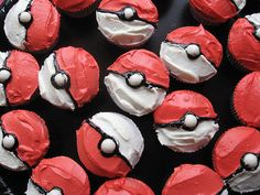 Pokemon cupcakes!
