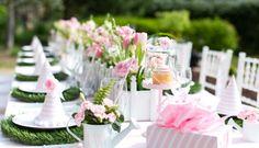 Blakely's Pink & White Garden 1st Birthday Party