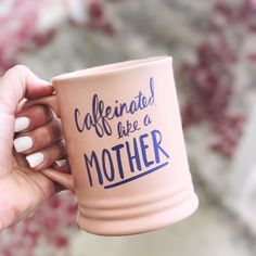 Grab our caffeinated like a mother mug NEW to the shop www.weestructed.com