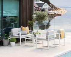 Freestyle sofagruppe fra Outdoor Season i aluminium