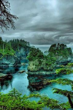 Nature:  #Nature ~ Cape Flattery, Washington, USA.