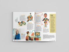 On Investing Magazine: Couples Print Design, My Design, Investing, Polaroid Film, Animation, Magazine, Couples, Illustration, Magazines