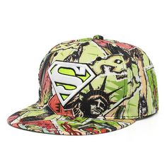2015 Fashion Unisex Superman Baseball Cap Hat For Men Women Cool Adjustable  Super Man e560b513bc0f