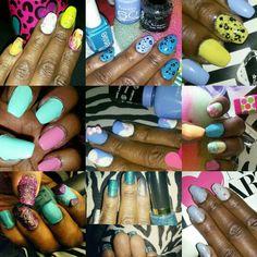 My nails #luvnailsnicole #instagram