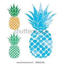 Pineapple illustration, typography, t-shirt graphics, vectors