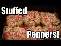 Stuffed Peppers with Ground Beef  - Ninja Cooking System
