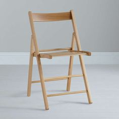 BuyHouse by John Lewis Buiani Folding Chair, Natural Online at johnlewis.com