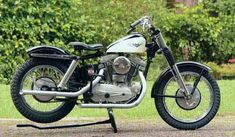 The 1958 Harley-Davidson XLCH Sportster was born of competition stock. Harley Davidson Helmets, Harley Davidson Museum, Davidson Bike, Classic Harley Davidson, Used Harley Davidson, Harley Davidson Motorcycles, Harley Panhead, Harley Davidson Knucklehead, Motorcycle Companies