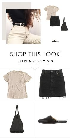 """""""x150"""" by xblue ❤ liked on Polyvore featuring James Perse, Topshop, Laneus and Yohji Yamamoto"""