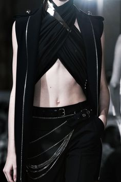 Style of Westeros - Asha Greyjoy – Bouchra Jarrar Haute Couture fall 2013 - Dark Fashion, High Fashion, Trendy Fashion, Fashion Fashion, Bouchra Jarrar, Character Outfits, Mode Inspiration, Corsets, Costume Design