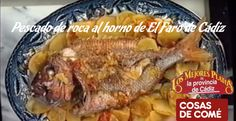 Así cocinan el pescado de roca al horno de El Faro de Cádiz. No te pierdas esta receta, con el paso a paso en vídeo.