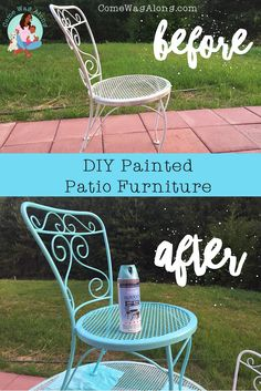 DIY: Painted Outdoor