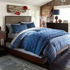 Bedrooms that inspire me on pinterest masculine bedrooms - Room ideas for teenage guys ...