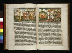 The early history of illustrated printed books is also the history of woodcut. Woodcut illustrations long predate the mid-fifteenth-century introduction of movable type to Germany. They were used extensively in the printing of textiles many hundreds of years before in Europe and the Far East. Designs were cut in relief in wood, inked, then stamped …