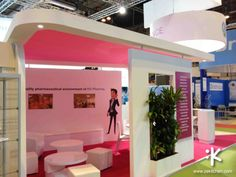 H3 Pharma - Octobre 2010 - 2013 #Design #AgenceZeKitchen #ZeKitchenAgency #Conception #Stand #Exhibition #Amenagement #H3Pharma